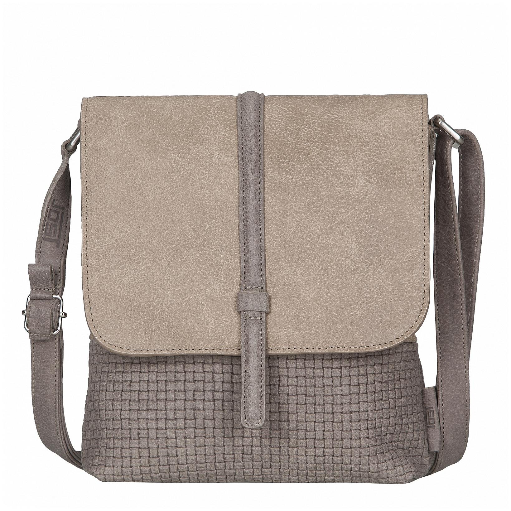 JOST Dámská kožená taška přes rameno TRECCIA 2579-998 pískovo-béžová