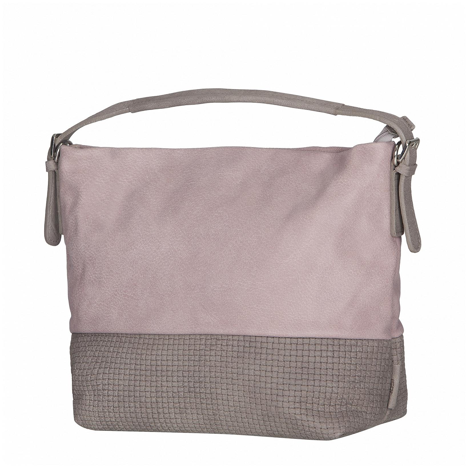 JOST Kožená kabelka TRECCIA 2584-995 růžovo-béžová 741b7026a73