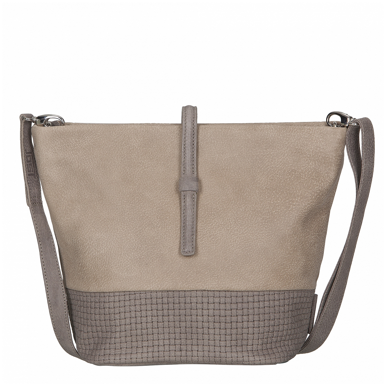 JOST Dámská kožená taška přes rameno TRECCIA 2591-998 pískovo-béžová