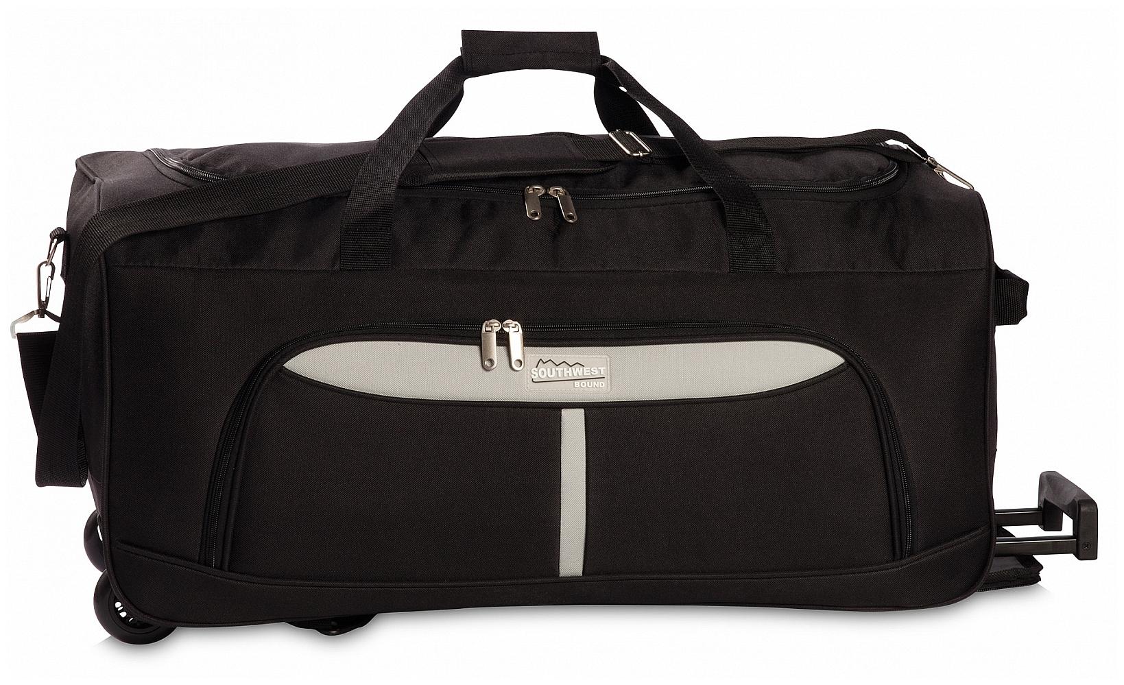 Southwest Cestovní taška na kolečkách 30288-0128 černá /šedá