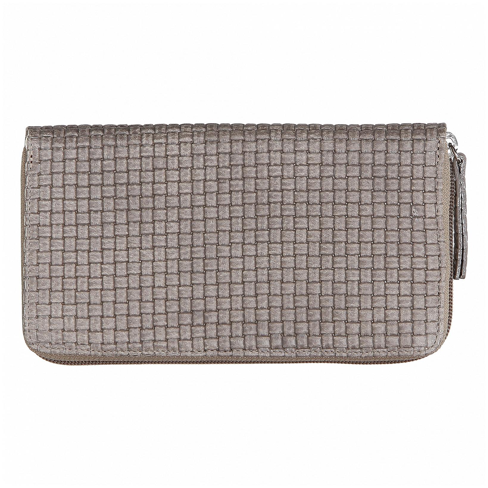 JOST Dámská kožená zipová peněženka TRECCIA 2587-804 písková