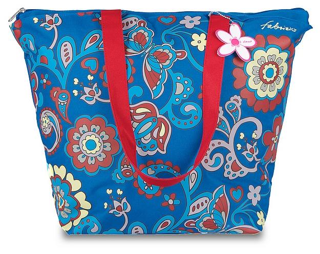 Fabrizio Letní taška - Plážová taška 50133-1900 modrá-multicolor