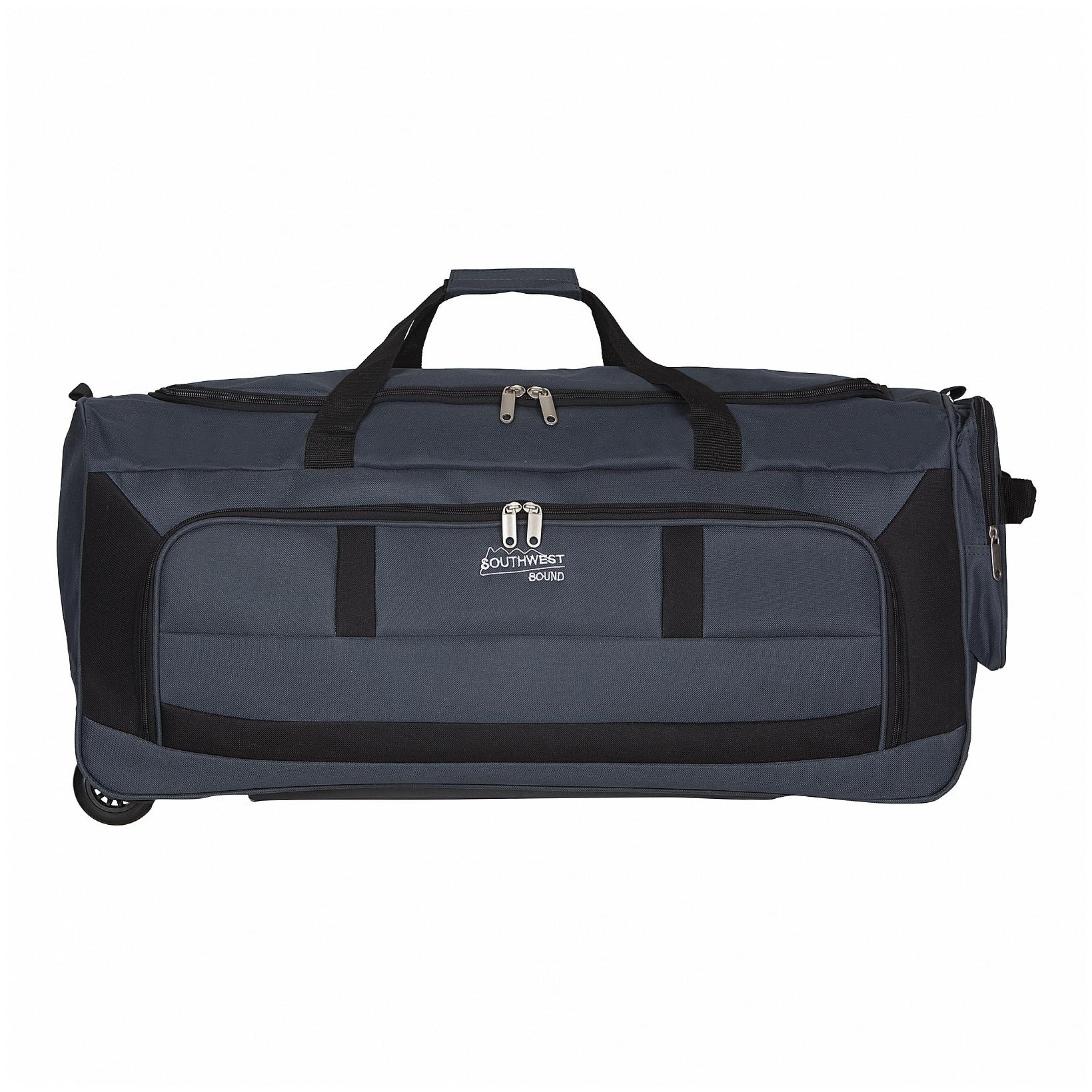 Southwest Cestovní taška na kolečkách 30180-4901 modrá