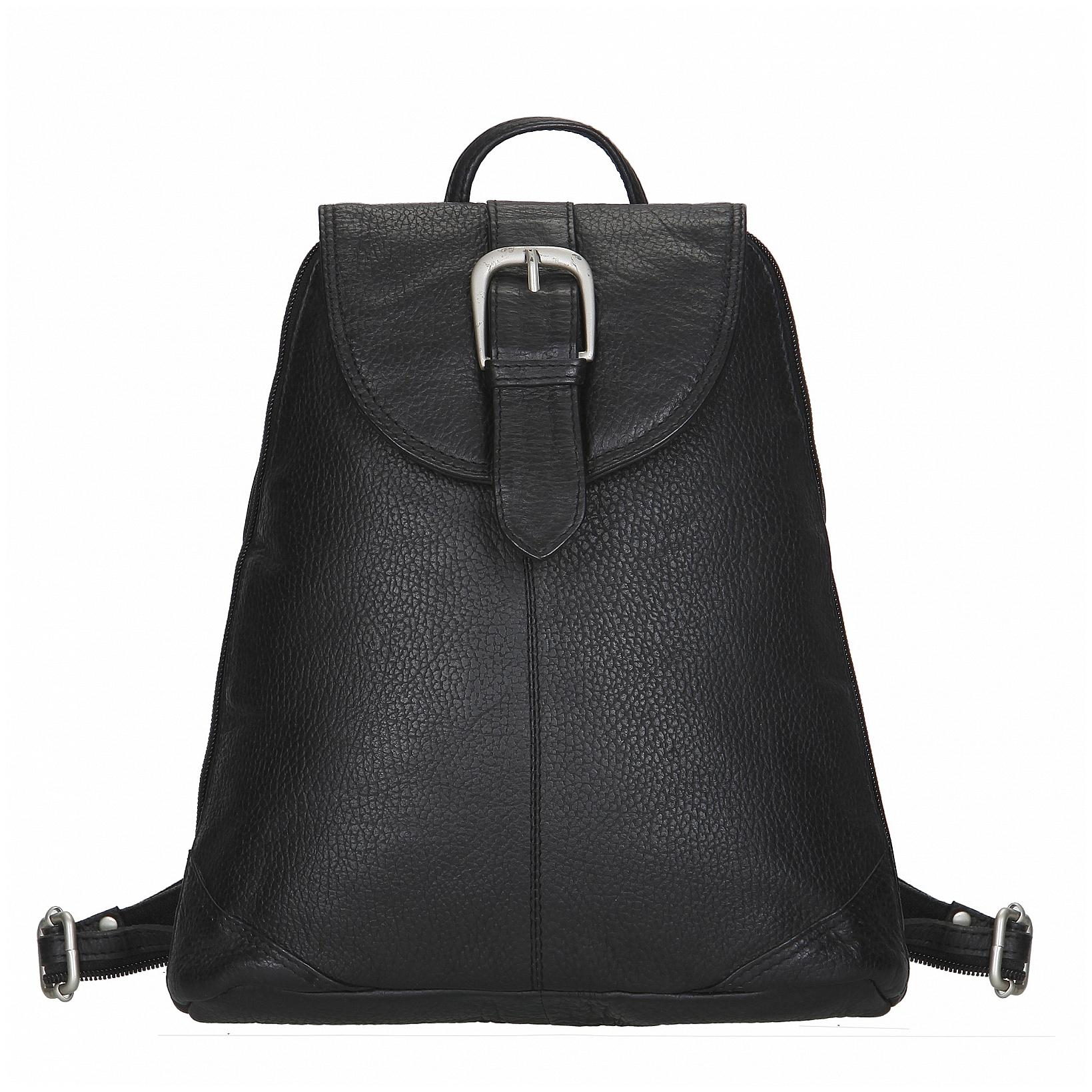 ESTELLE Dámský kožený batoh 1273 černý