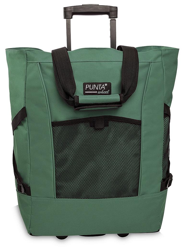PUNTA wheel Nákupní taška na kolečkách 06980-2600 zelená