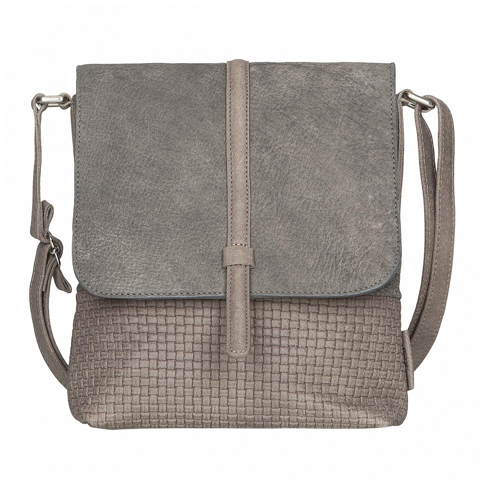 JOST Dámská kožená taška přes rameno TRECCIA 2579-804 pískovo-hnědá
