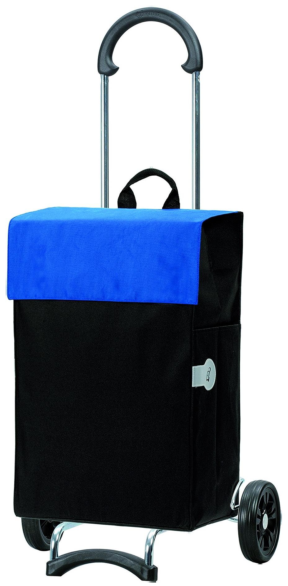 Andersen Nákupní taška na kolečkách SCALA SHOPPER® HERA 112-004-90 černo-modrá