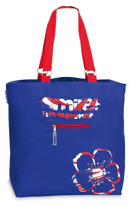 Fabrizio XXL plážová taška 50135-0500 modrá 999b8365bf8