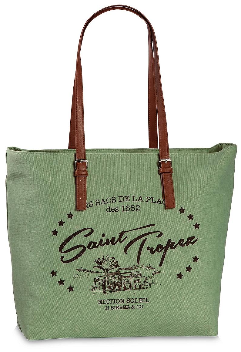 Fabrizio Letní taška / Nákupní taška 55162-5800 zelená