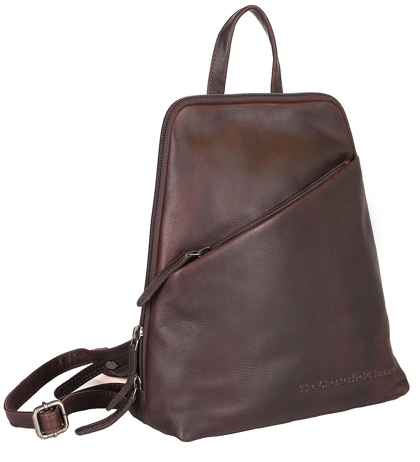 274f76b201c The Chesterfield Brand Dámský kožený batoh do města Claire C58.023501 hnědý