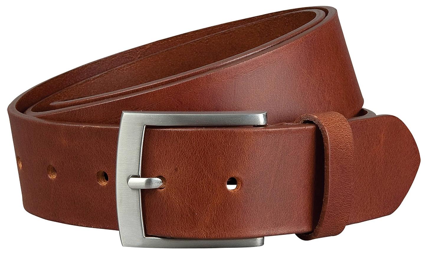 Castelijn & Beerens Pánský kožený pásek 126467 Niger koňak