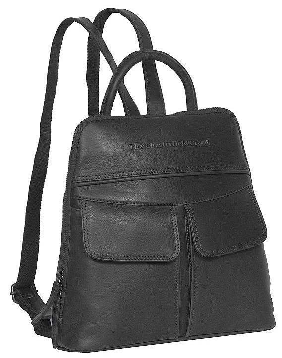 The Chesterfield Brand Dámský kožený batoh do města Evi C58.014500 černý 6eeb106c10