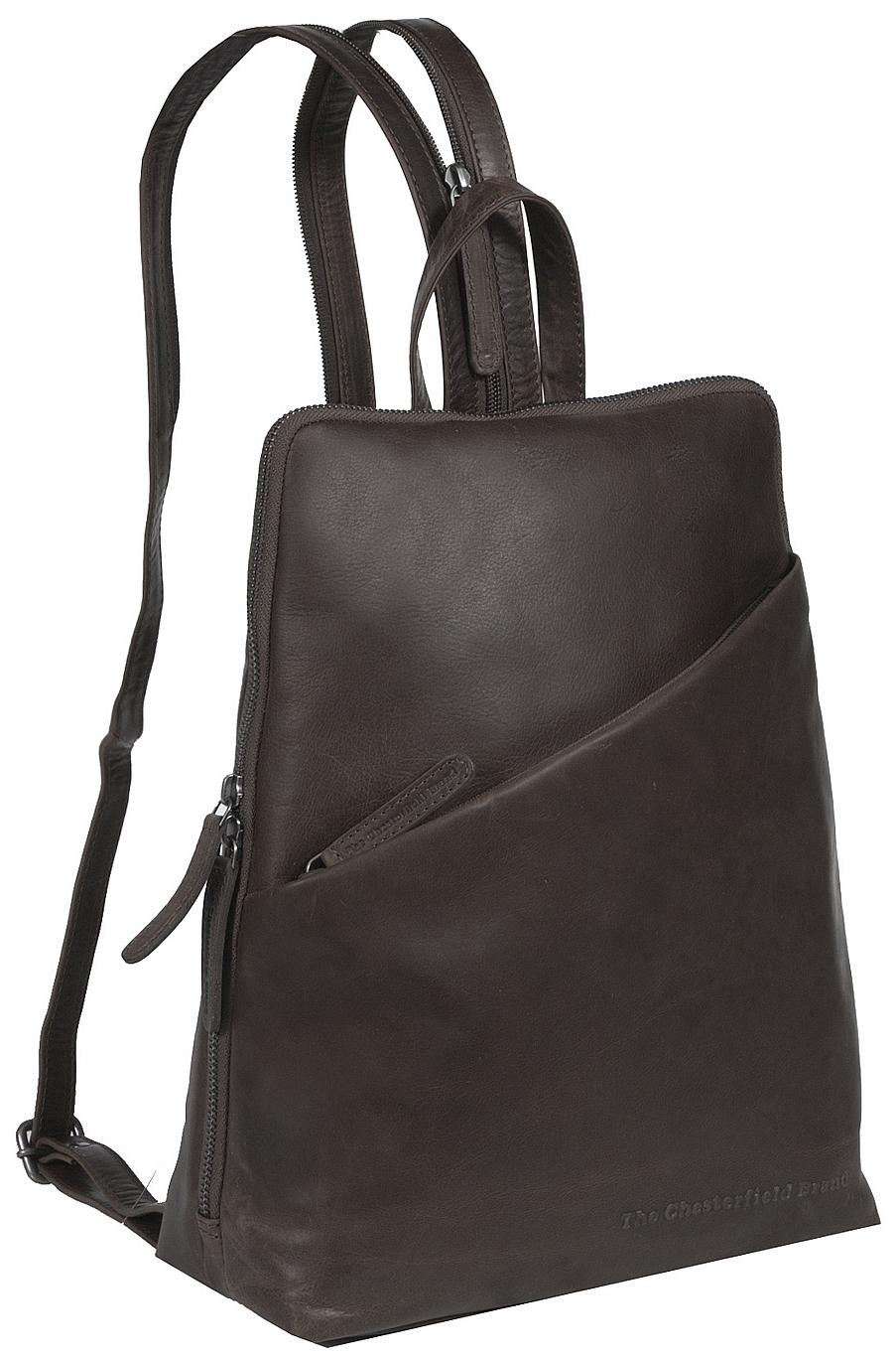 The Chesterfield Brand Dámský kožený batoh do města Bath C58.014701 hnědý