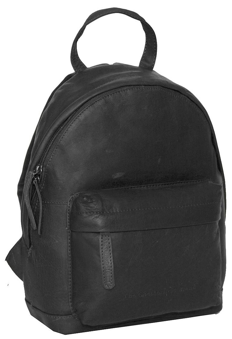 The Chesterfield Brand Dámský kožený batůžek Jamie C58.014800 černý