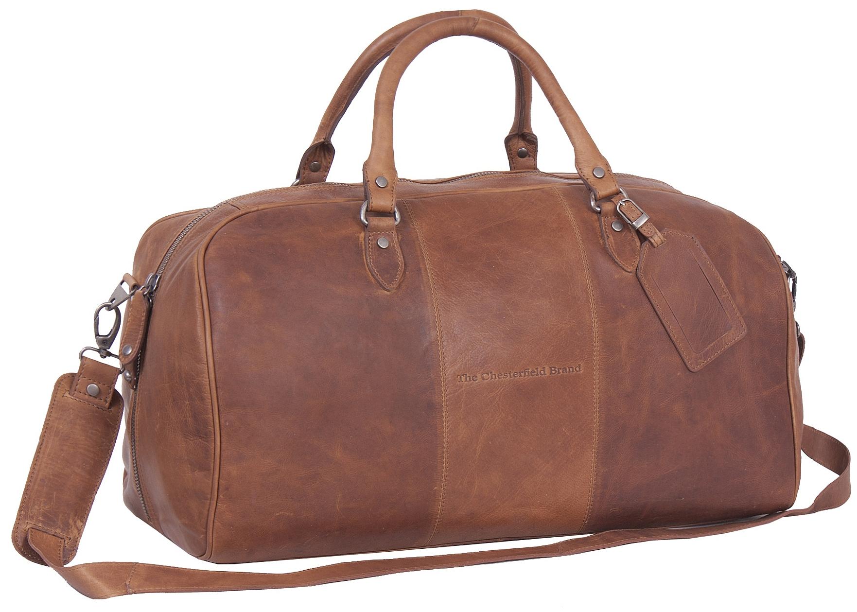 The Chesterfield Brand Kožená cestovní taška - weekender C20.000431 William koňak