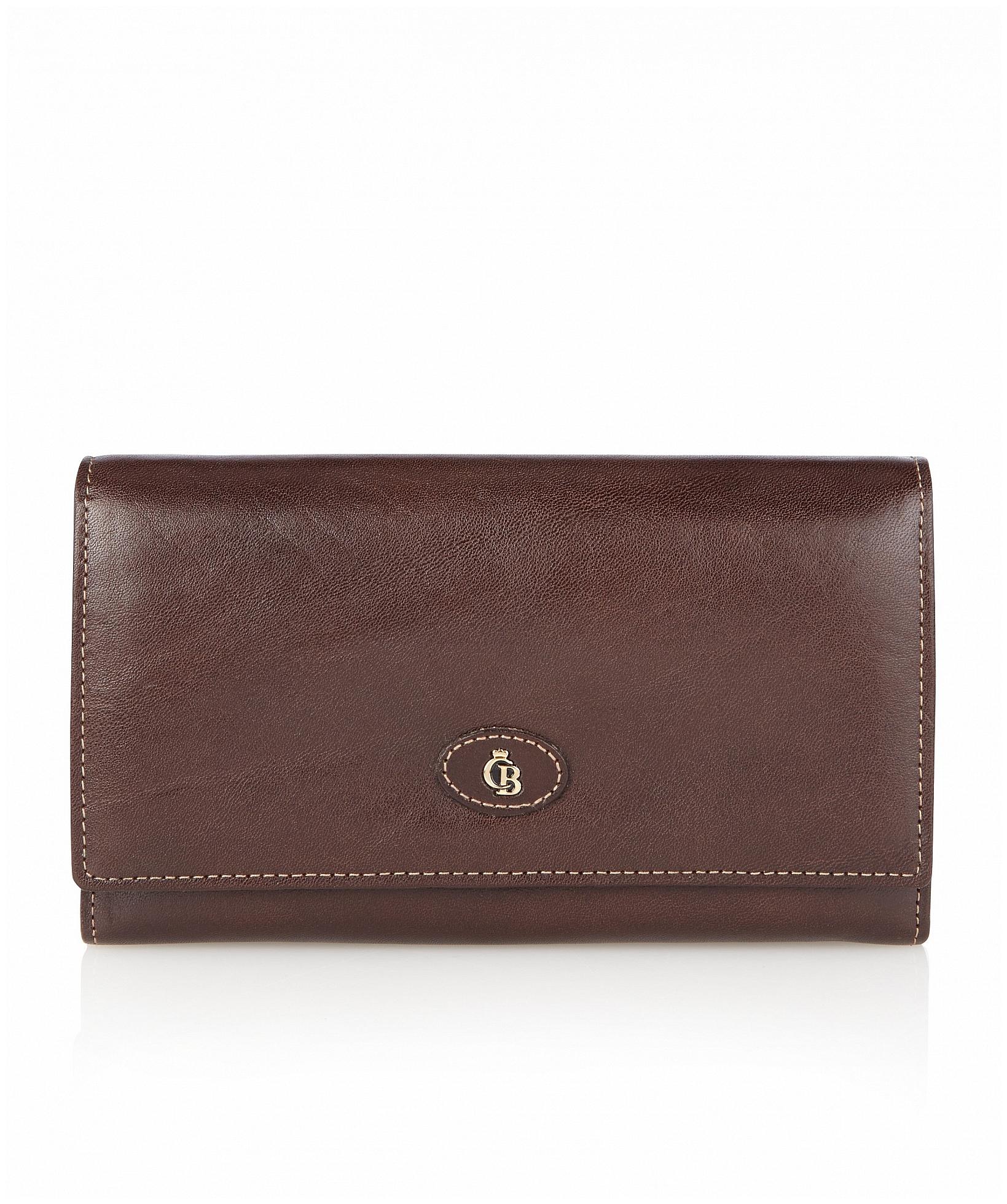 5719a1dfa53 Castelijn  amp  Beerens Dámská kožená peněženka 422402 hnědá