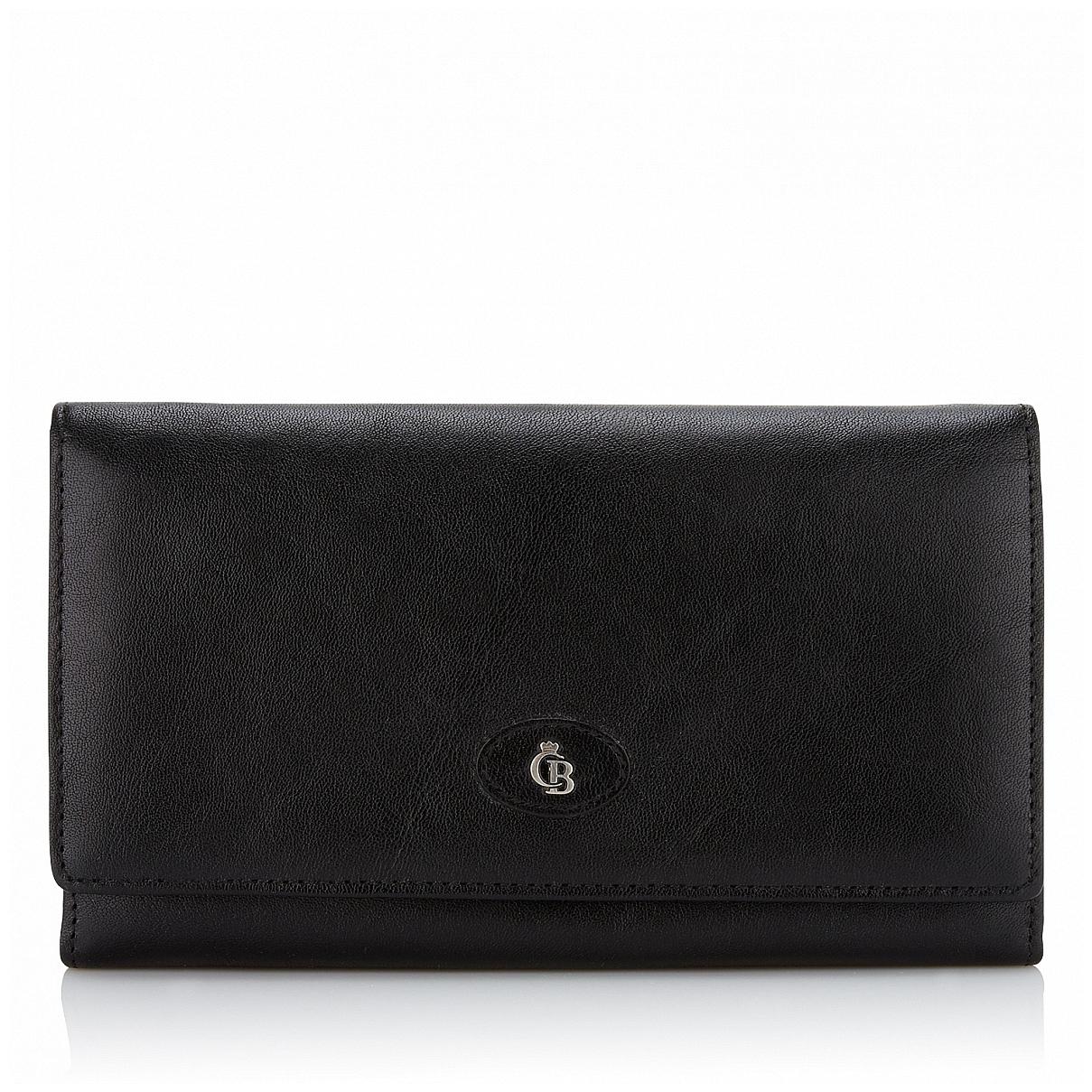 Castelijn & Beerens Dámská kožená peněženka 422402 černá