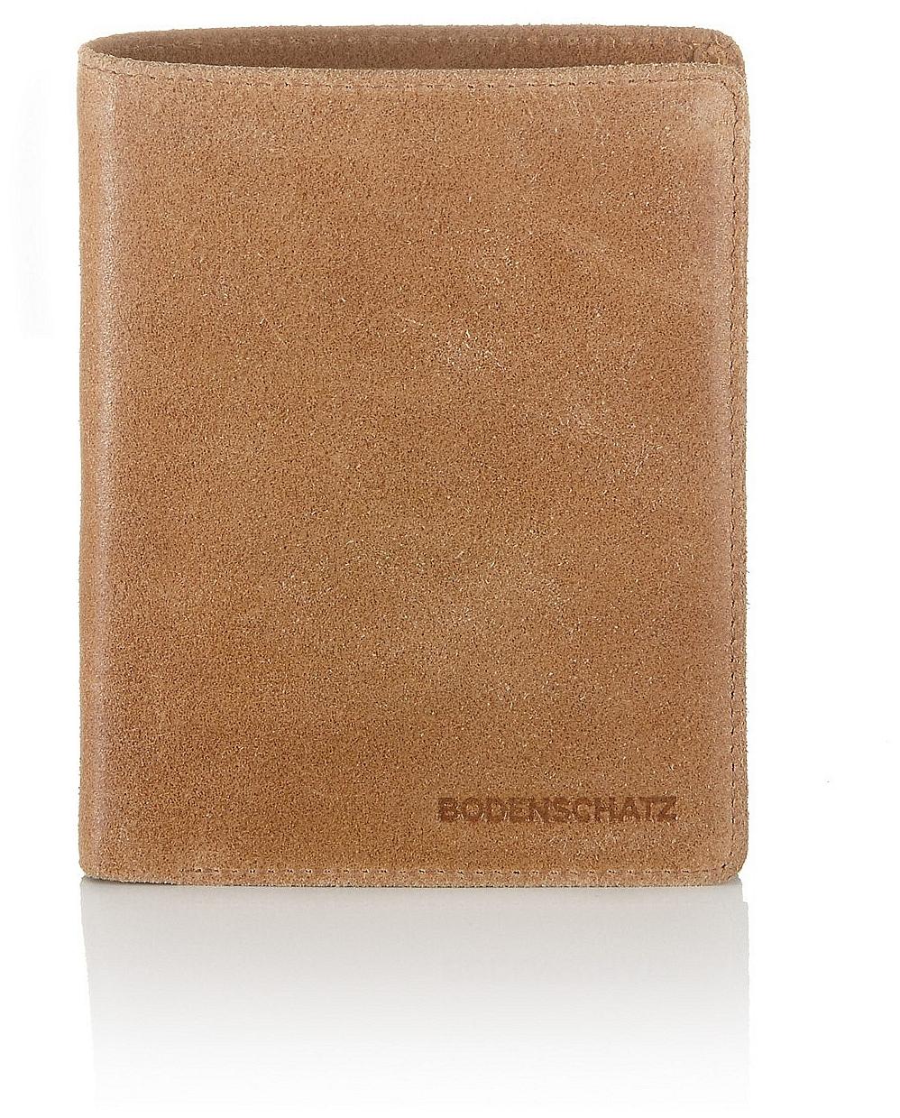 BODENSCHATZ Kožená peněženka 8-078 ML světle hnědá