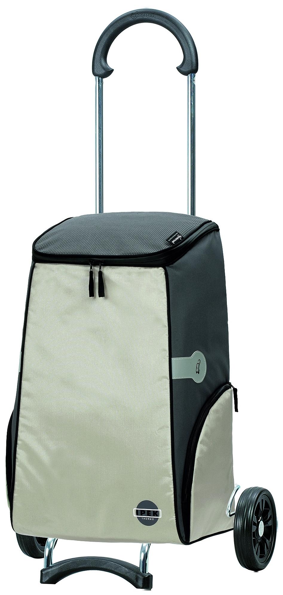 Andersen Nákupní termotaška na kolečkách SCALA SHOPPER®IPEK 112-112-20 stříbrná