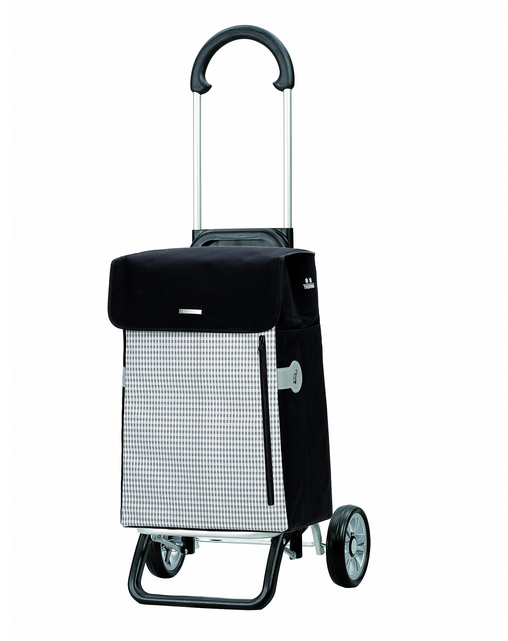 Andersen Nákupní taška na kolečkách s termopřihrádkou SCALA SHOPPER® PLUS PETIT 133-010-40 béžová