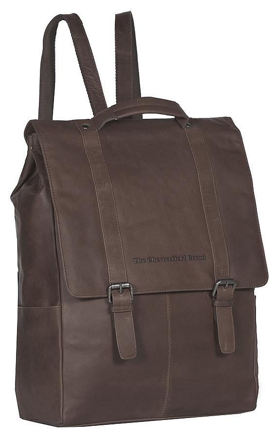 The Chesterfield Brand Pánský kožený batoh na notebook Rich C58.015601 hnědý