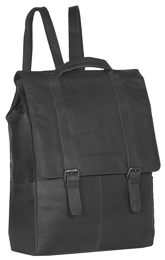 The Chesterfield Brand Pánský kožený batoh na notebook Rich C58.015600 černý