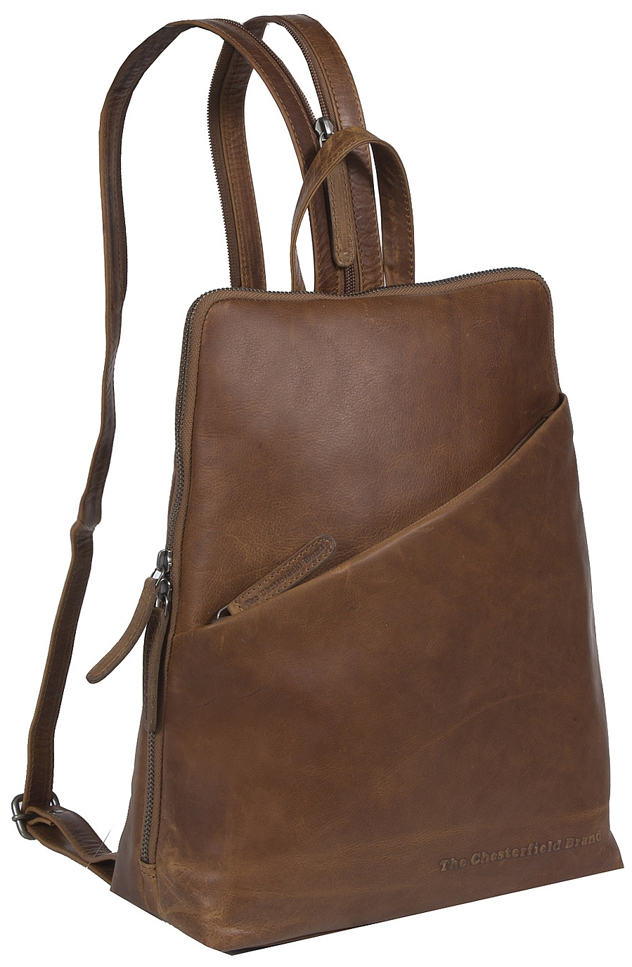 2c69277716b The Chesterfield Brand Dámský kožený batoh do města Amanda C58.014731 koňak