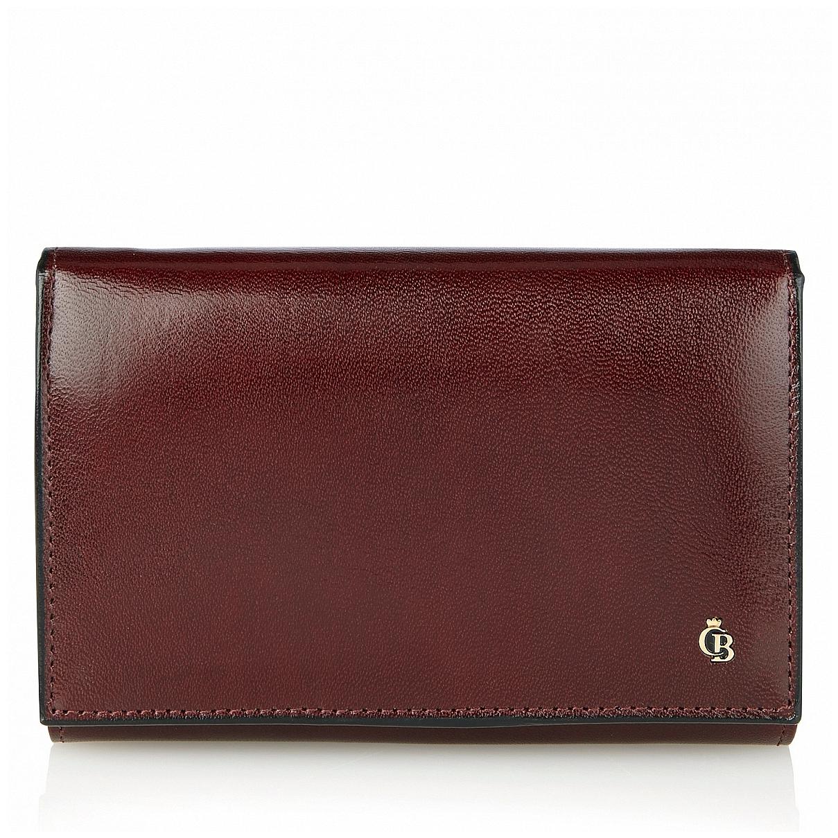 Castelijn & Beerens Dámská kožená peněženka 442121 BO bordó