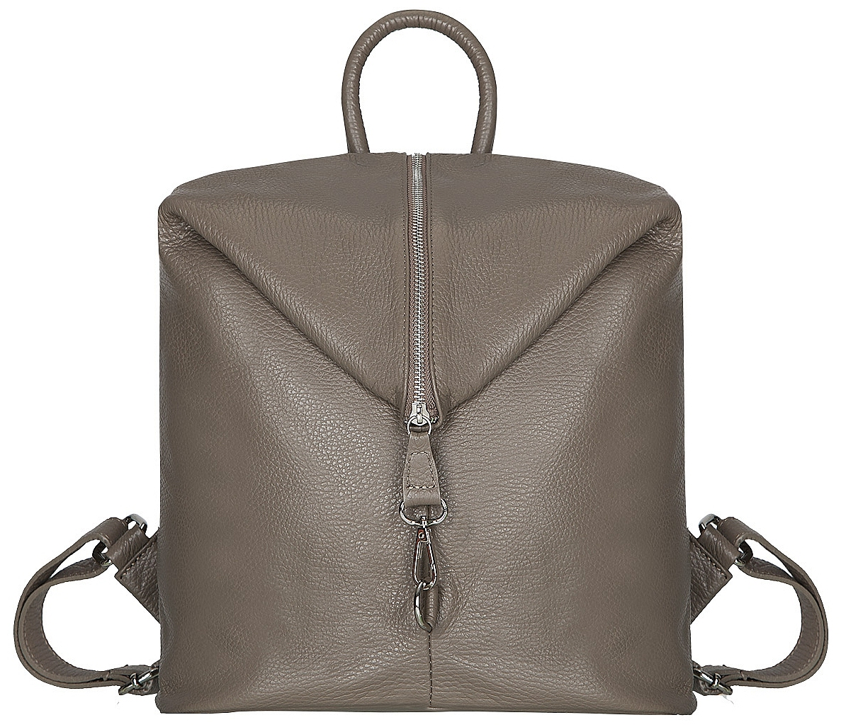 ESTELLE Dámský kožený batoh 1252 tmavě béžová