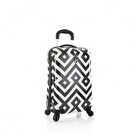 Heys Skořepinový kufr Deco S 13050-1100-21 černo-bílý