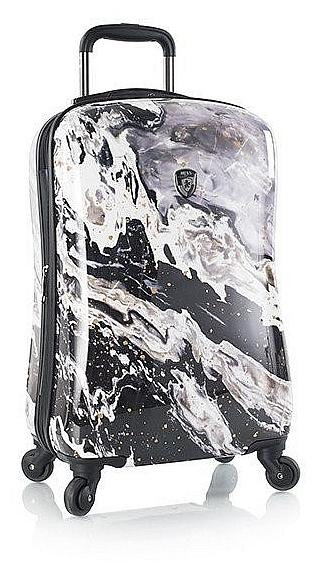 Heys Skořepinový kufr Nero S 13080-1367-21 černo-bílý