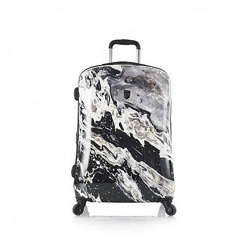Heys Skořepinový kufr Nero M 13080-1367-26 černo-bílý