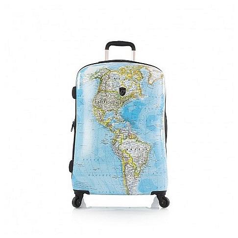 Heys Skořepinový kufr Journey 26 M 13079-3010-26 modrá