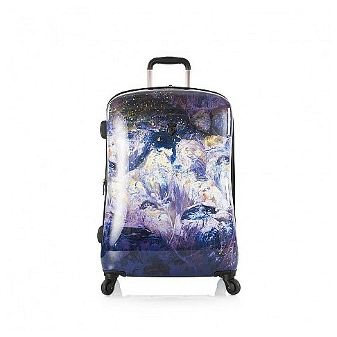 Heys Skořepinový kufr Purple Amethyst M 13082-3167-26 modrá