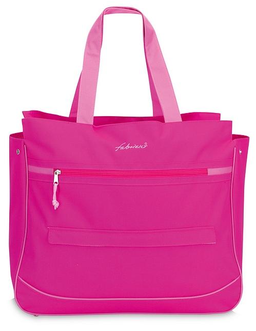 Fabrizio Letní taška - Plážová taška 50141-2200 růžová