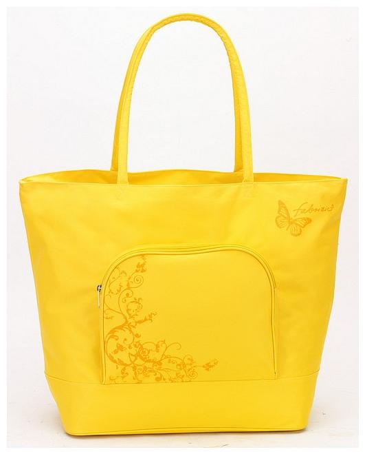 Fabrizio Letní taška - Plážová taška 50129- 0900 žlutá
