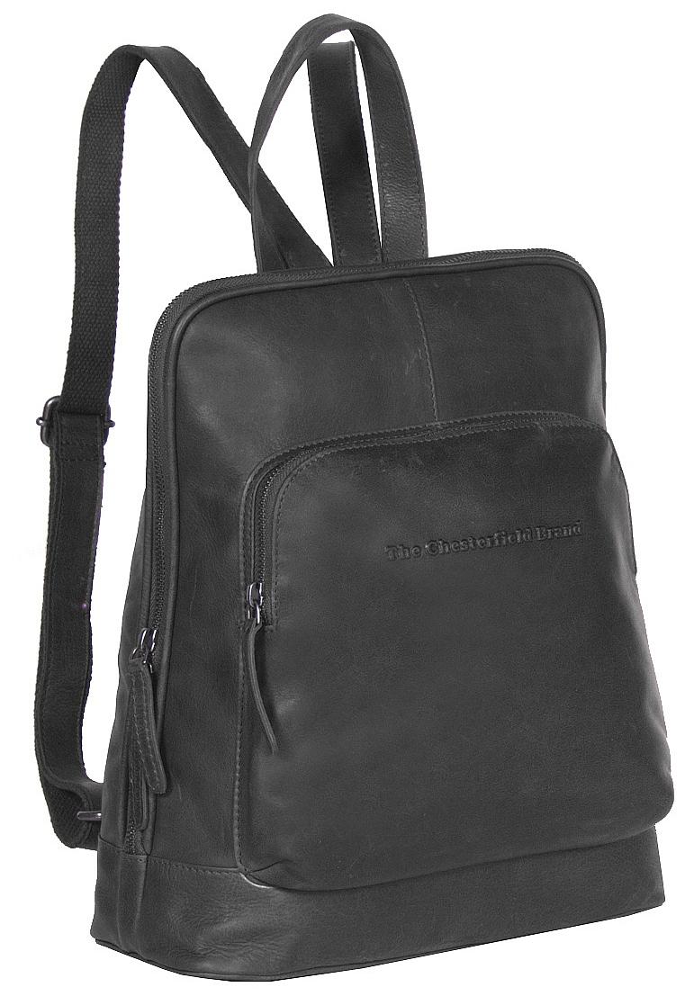 The Chesterfield Brand Dámský kožený batůžek Stacey C58.015000 černý