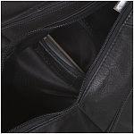 ab909a09d71 ESTELLE Kožený batůžek do města 0999 černý - UNIVARO