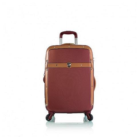 Heys Skořepinový kufr Heritage S Burgundy 15016-21 fialová