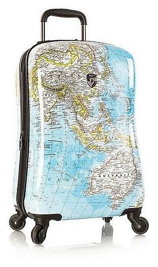 Heys Skořepinový kufr Journey 2G S 13079-3010-21 modrá