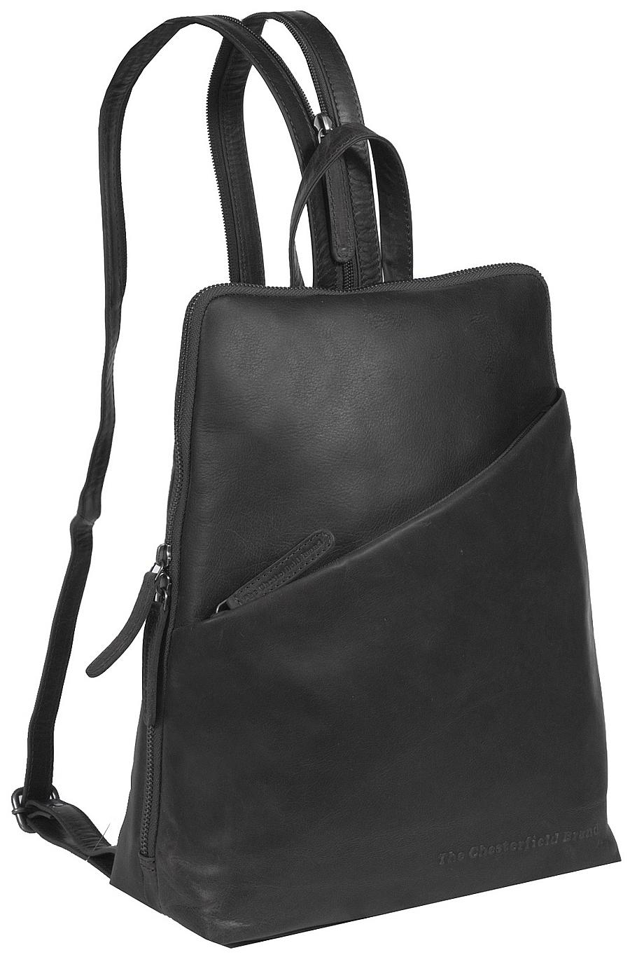 The Chesterfield Brand Dámský kožený batoh do města Bath C58.014700 černý