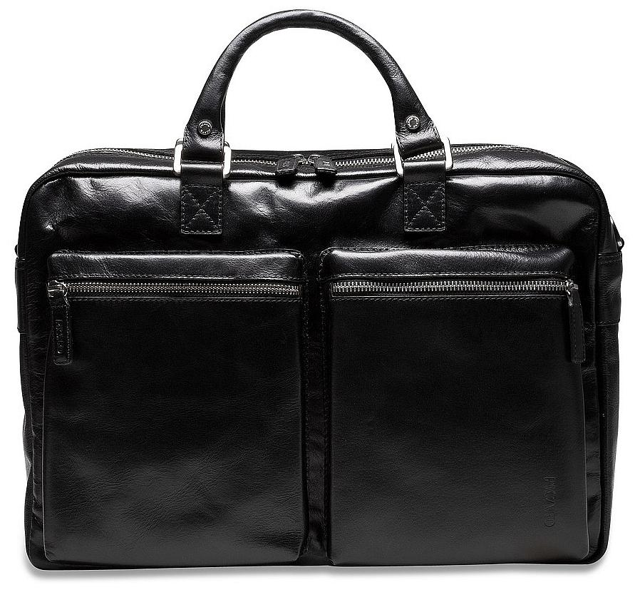 PICARD Pracovní taška z buvolí kůže 5209 Buddy černá