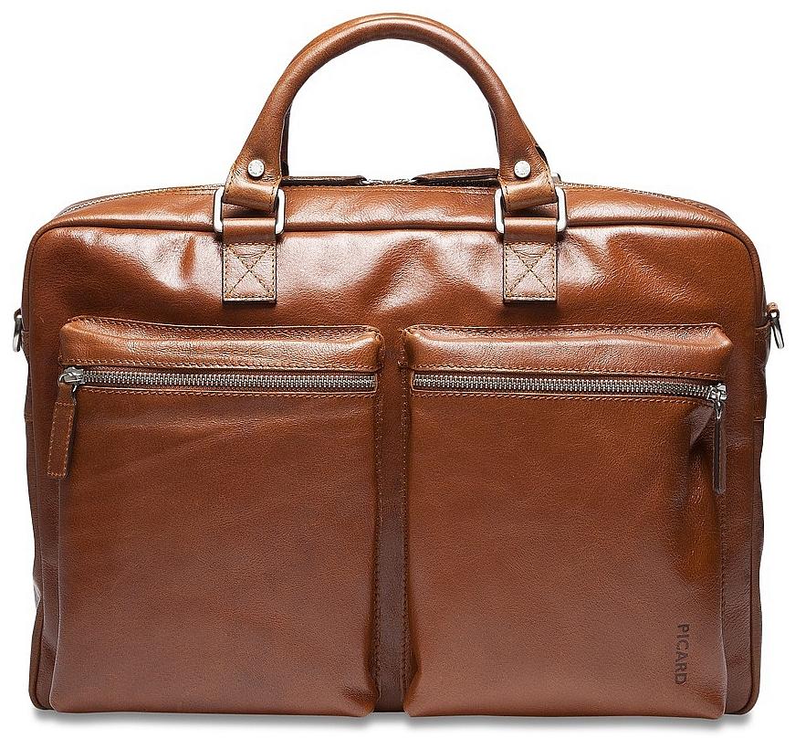 PICARD Pracovní taška z buvolí kůže 5209 Buddy koňak