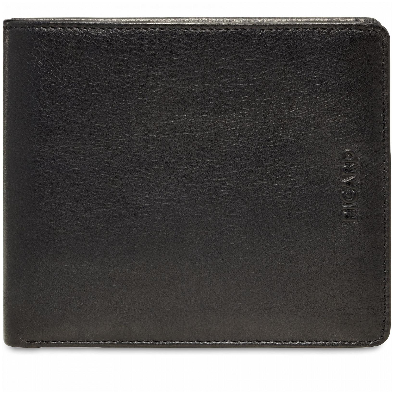 PICARD Pánská kožená peněženka BROOKLYN 2820 černá