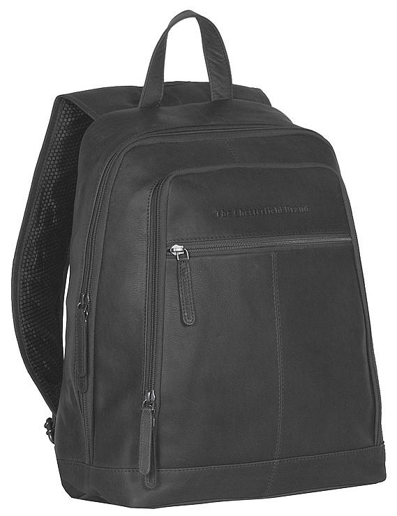 The Chesterfield Brand Kožený batoh na notebook Rich C58.015500 černý