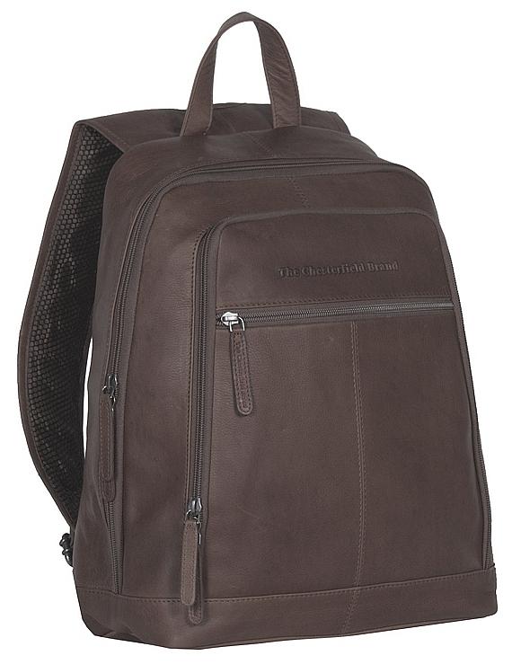 The Chesterfield Brand Kožený batoh na notebook Rich C58.015501 hnědý