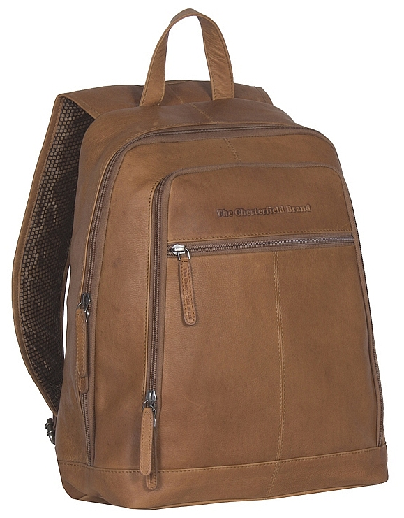 8b2a113e4f8 The Chesterfield Brand Kožený batoh na notebook Rich C58.015531 koňak