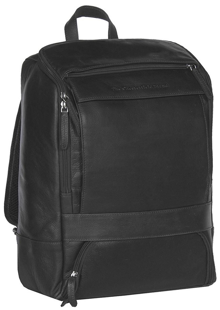 The Chesterfield Brand Kožený batoh na notebook Rich C58.015700 černý