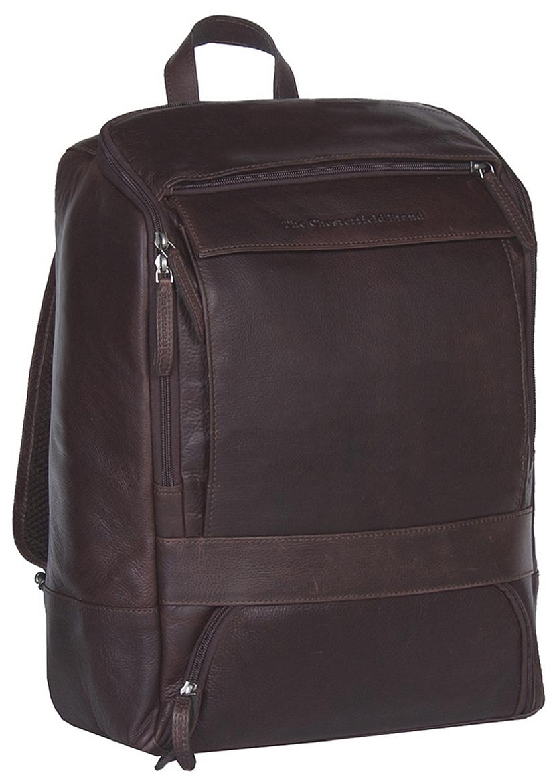 The Chesterfield Brand Kožený batoh na notebook Rich C58.015701 hnědý