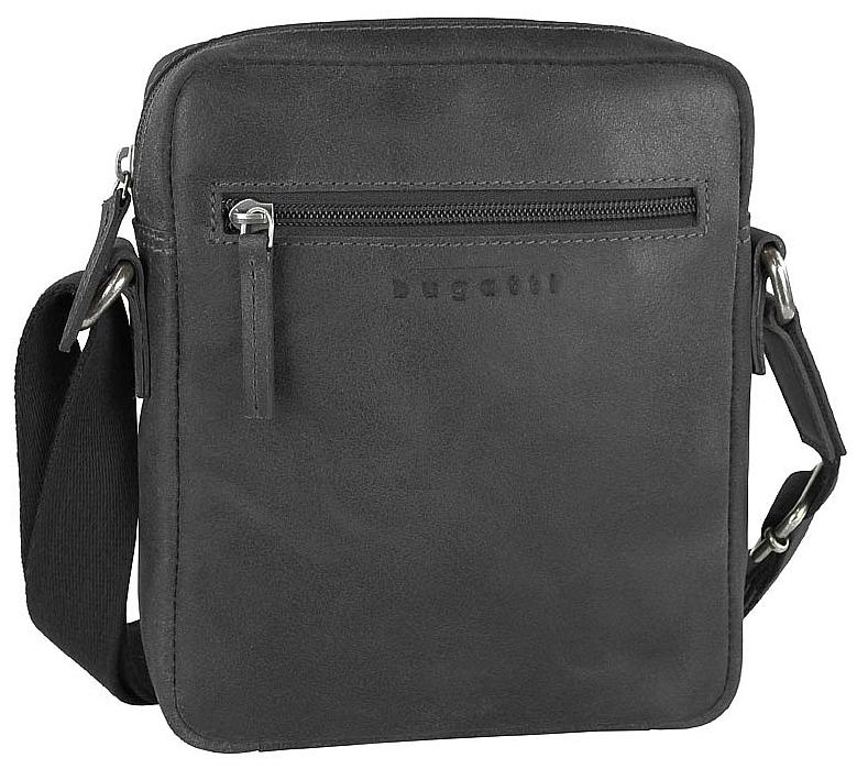 Bugatti Kožená taška na doklady SEGNO 49548001 černá